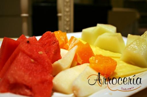 Fruta fresca del verano para sorbetes naturales