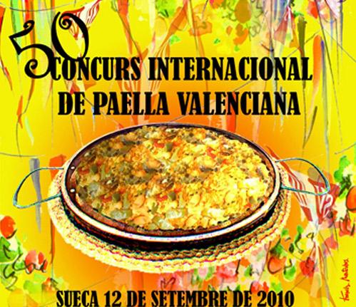 50 Concurso Internacional de Paella Valenciana